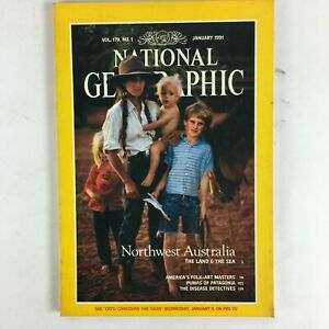 January-1991-National-Geographic-Magazine-Northwest-Australia-The-Land-amp-The-Sea