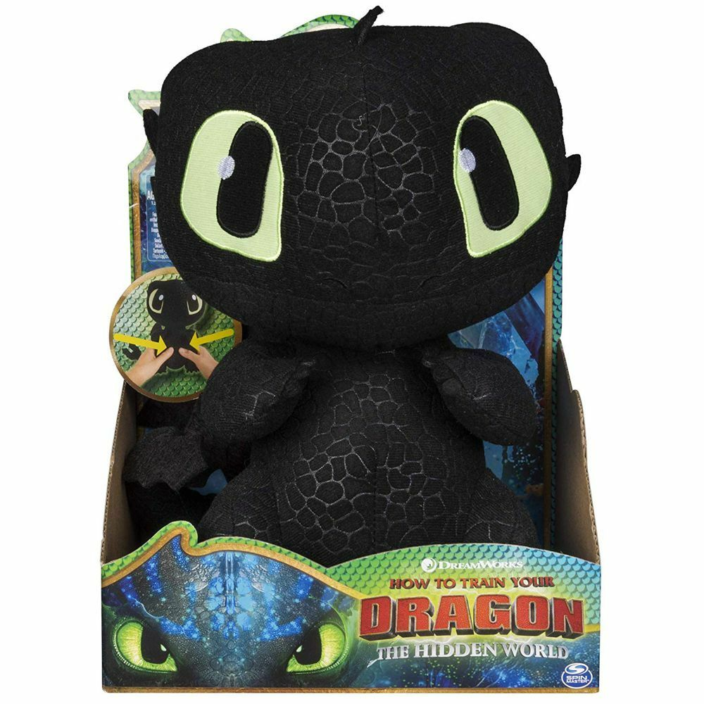 Toothless Dragon   Plush figure interactive   Soft Toy   DreamWorks Dragons