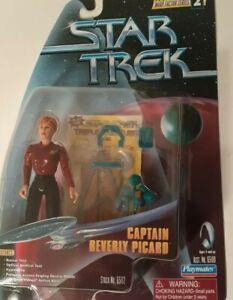 Captain Beverly Picard - Star Trek 1997 Playmates Action Figure