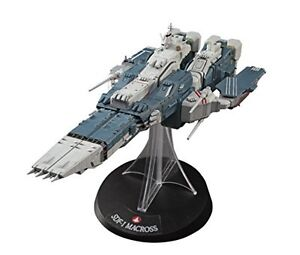 1/4000 Sdf-1 Macross Fortress Ship W / Prometheus And Daedalus 1023