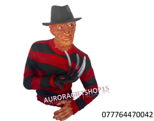 Licensed Freddy Krueger Bust Coin Bank 0042