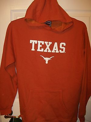 Texas Longhorns Hoodie Jacket Boys Youth Size 4  NWT  #53