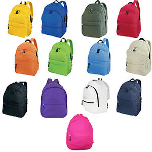 Image is loading CENTRIX-TREND-RUCKSACK-BACKPACK-BAG-11-COLOURS 0ae4aa32c7e44