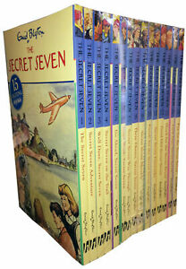 Secret-Seven-Library-Complete-Box-Set-Of-15-Books-By-Enid-Blyton-RRP-74-85