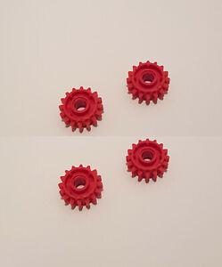 1x Zahnrad Ritzel Getriebe 16 Tooth Clutch Rot//Rot 18946 Neu Lego Technic