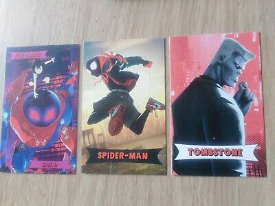 Spider-Man Into The Spider-Verse Odeon single cards Buy 2 Get 1 Free Please read
