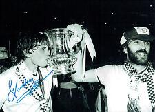 Glenn HODDLE Signed Autograph 16x12 Tottenham FA Cup Win Photo AFTAL COA SPURS