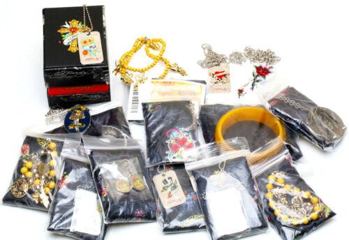 bracelets colliers Ed Hardy Wholesale mixed Lot de 10 tous avec COA ~ Dog Tags