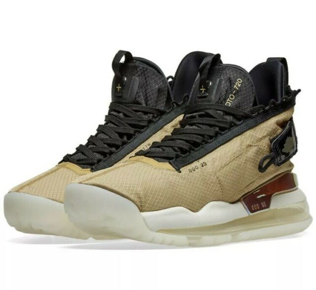 Nike Mens Air Jordan Proto Max 720 Club Gold Shoes Bq6623 700 Size 10