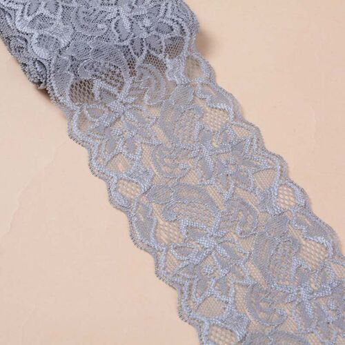 Ribbon Elastic Handicrafts Stretch Skirt Dress Floral Lace 5 Yards Trim Sewing