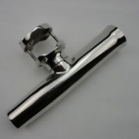 Boat Rod Holder For Rails1-1/4to 2 Stainless Tournament Style Clamp On Fishing