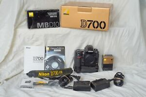 Nikon-D700-Body-with-MBD10-Drive