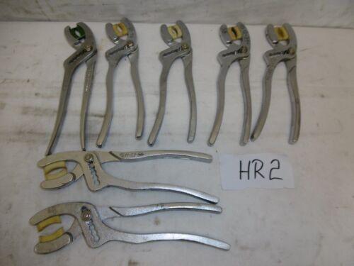 1x syphonzange Syphon robinetterie Pince Pince Longueur Environ 240 mm ex armée hr2