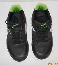 5fcaa8e9db9 Easton Mako Youth Size 4 Molded Baseball Cleats Black Green white