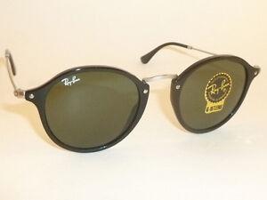 3293dd6383172 New RAY BAN Sunglasses Black Frame RB 2447 901 G-15 Glass Lenses ...