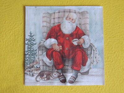 1330 4 Servietten Motivservietten Serviettentechnik Weihnachten Stern