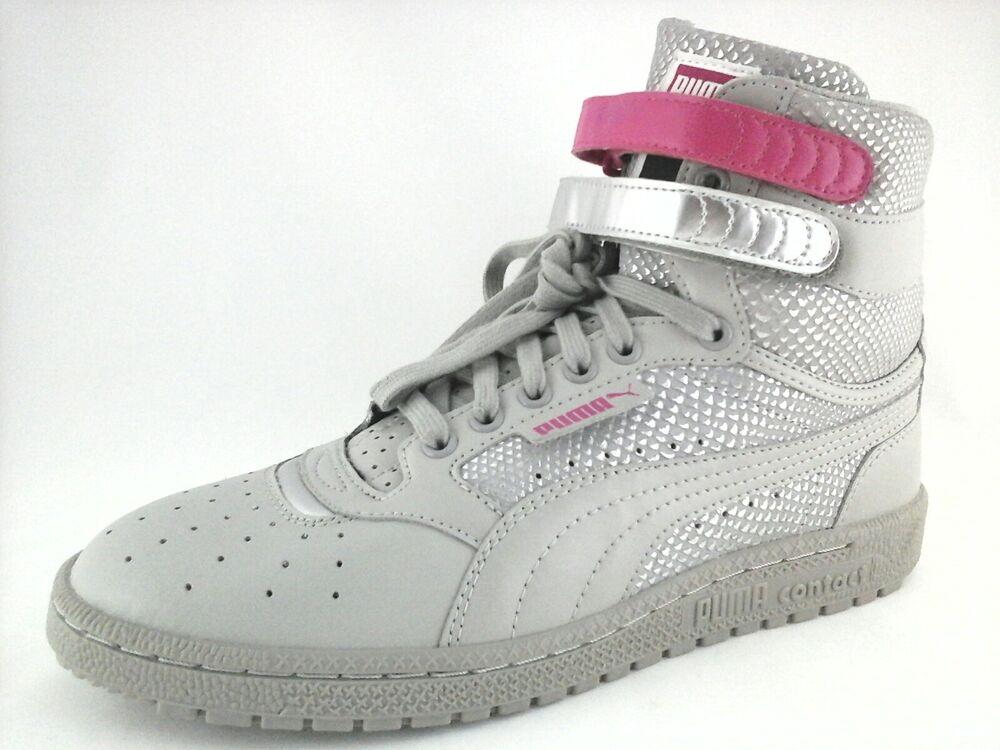PUMA Femme SKY HI BASKETBALL CLASSIC HIGH TOP SNEAKER chaussures US 10 EU 41 UK 7.5