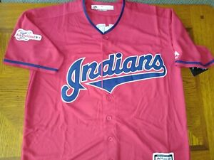 sports shoes d97e8 74ed7 Details about Cleveland Indians Jersey Size XL XLarge - sewn ALL STAR