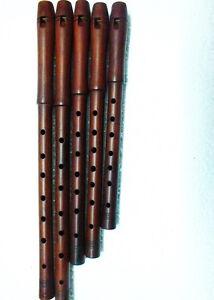Turkish-Good-Quality-Plum-Wood-Dilli-KAVAL-TUTEK-Shivi-Flute-Single