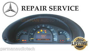 Mercedes benz w463 g320 g500 g55 dash instrument cluster for Mercedes benz cluster repair