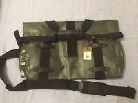$140 Small Green Filson Waterproof Dry Duffle Bag. Roll Duffel. Made In Usa