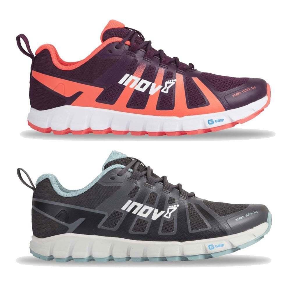 Inov 8 terraultra 260 para mujer Más amplio Ajuste & cero gota Trail Running Zapatos