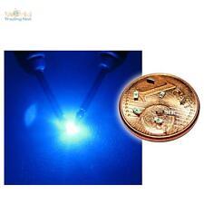 _10 blaue SMD LEDs 0603 / mini LED SMDs BLAU blue bleue azzurro blauw azul