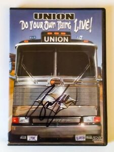 DVD - UNION - DO YOUR OWN THING - LIVE - AUTOGRAPHED BY BRUCE KULICK - V636003