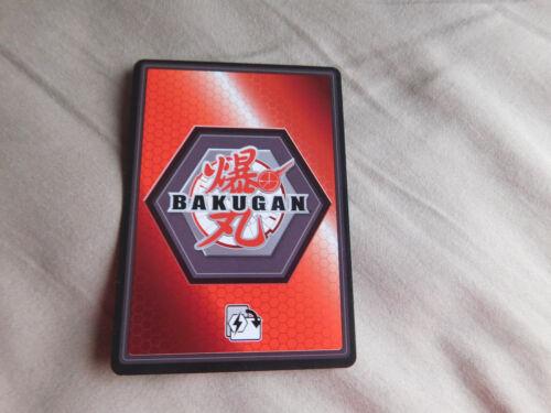 BAKUGAN Battle Brawlers Battle Planet ICE SICKLE Action Card 15