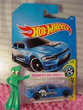 '15 DODGE CHARGER SRT #9✰blue;pr5✰MOPAR✰Speed Graphic✰2017 i Hot Wheels Case A/B