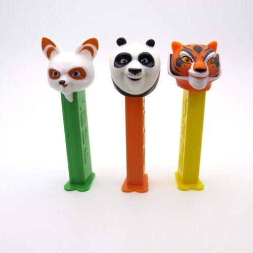Pez, Kung Fu Panda, Set of 3 , Loose