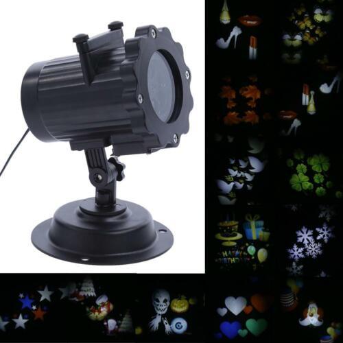 led laser projector gartenlicht lighting laser outside xmas waterproof #K