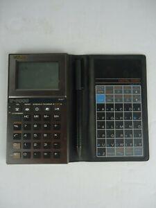 Casio-IF-8000-Calculator-Digital-Diary-Works-Great