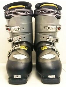 Salomon-Ellipse-8-0-Mens-Ski-Boots-Size-10-28-0-Black-Custom-Fit-3D-buckle
