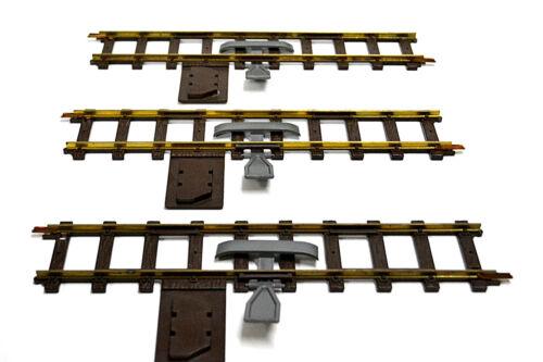 "Entkupplungsgleis /"" Faller E-Train//Spur 0    /"" 3 x Funktionsgerade"