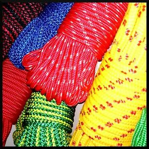 6 mm PolyPropylene Rope Braided Cord Wire Twine Strand Strong String Line Sport