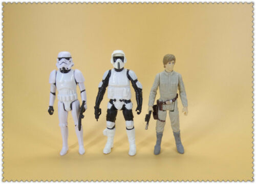 """lot of 6 STAR WARS  ACTION FIGURE 3.75/"""""""