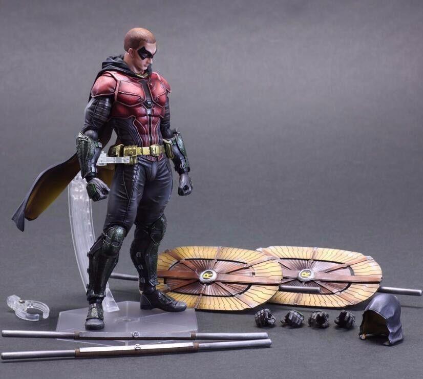 Bathomme Figurine Play Arts Kai  Arkham Knight Robin Anime Movie Bat Man  pas cher et de haute qualité