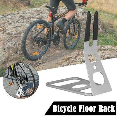 Pro Bike Display Steel Stand Bicycle Storage Rack Floor Holder Triangle Rear !