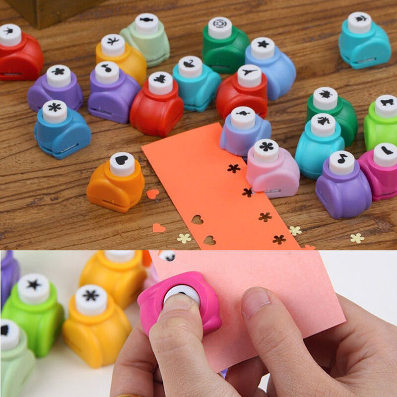 New paper shaper edge crafts diy printing hole mini punch for Craft hole punch set