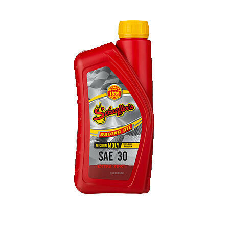 Schaeffer-039-s-Oil-Micron-Moly-SAE30-Racing-Oil-w-Extreme-Zinc-Quart-11030