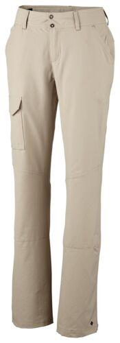 rimboccarsi per Caprihose BEIGE TG Columbia donna pantalone outdoorhose D 42 L Nuovo