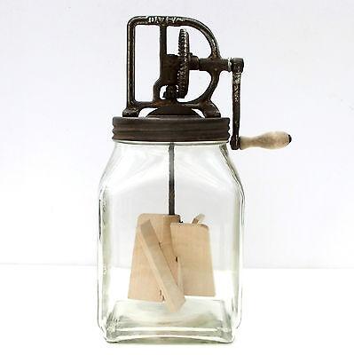 Vintage Original Large Dazey Butter Churn 40 4 Quart Patent Dated 1922