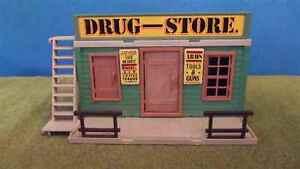 Playmobil-Einzelteile-Drug-Store-3424-3462-Western-WG7