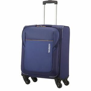 American Tourister Spinner Small 4 Wheel Suitcase - Blue | eBay