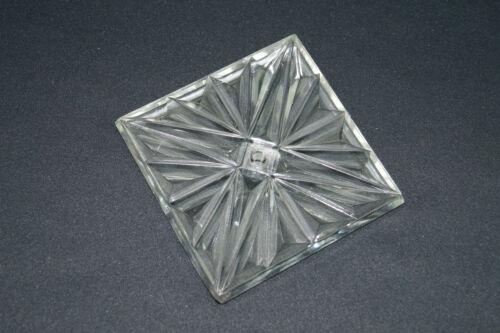 DDR Pusteblume Sputnik Eiskristall Pressglas Lampe Ersatzteil Kristallleuchte