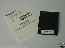 Spiker Super Pro Volleyball with Manual for the Intellivision Video Game System