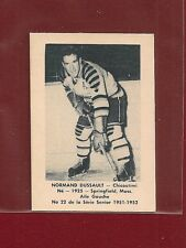 1951-52 Laval Dairy #22 Normand Dussault - Chicoutimi