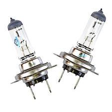 2x h7 NATURALE VETRO TRASPARENTE ALOGENA FARO PROIETTORE LAMPADINE LAMPADE 12v 55w
