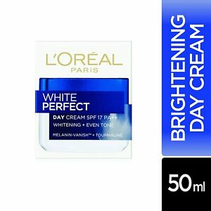 L'Oreal Paris White Perfect Day Cream SPF 17 PA++, 50ml Freeshipping